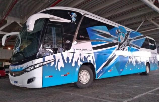 Grêmio viajará para Criciúma em dois ônibus para treinar sem restrições
