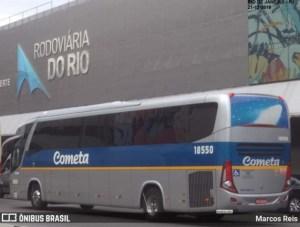 Rodoviária do Rio segue com movimento baixo de passageiros por conta da pandemia da Covid-19