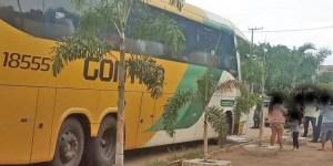CE: Ônibus da Gontijo é abordado em barreira sanitária