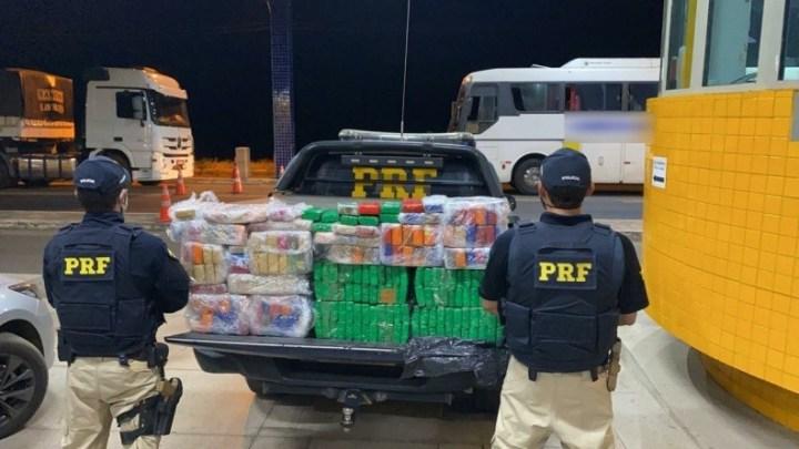 PI: PRF apreende entorpecentes dentro de na BR-230 e prende três pessoas por Tráfico de Drogas