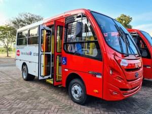 Governo do Espírito Santo renova frota de ônibus do Serviço Mão na Roda