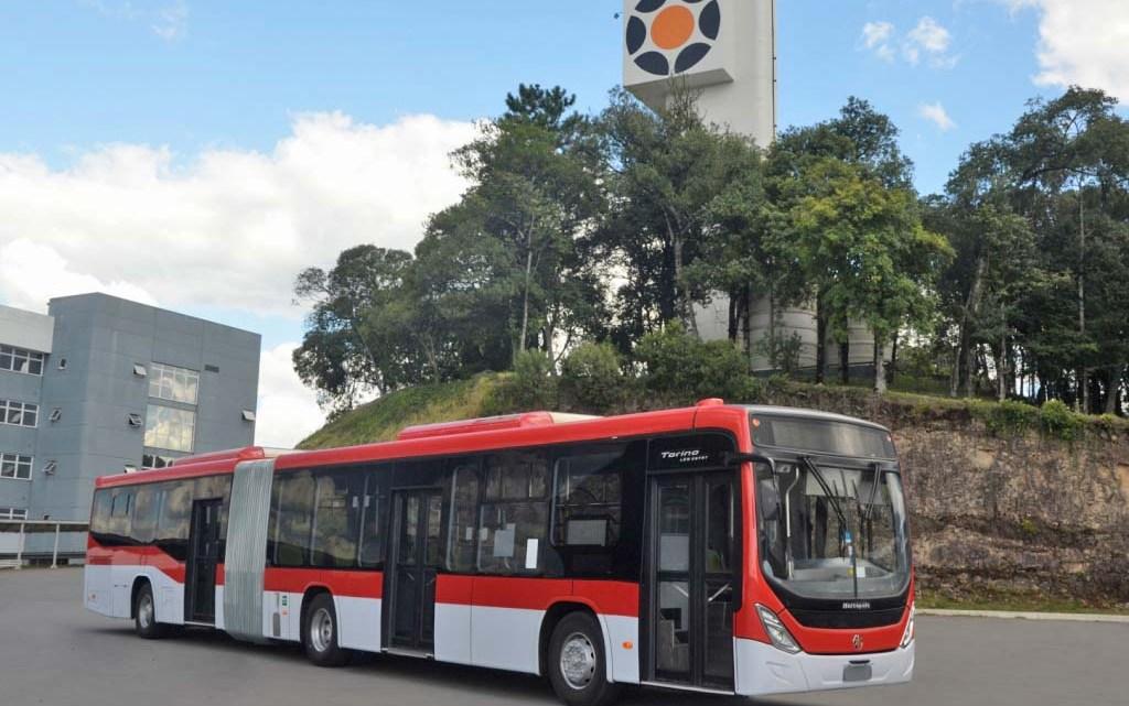 Marcopolo entrega 240 novos ônibus Mercedes-Benz para o sistema Red Mobilidad no Chile