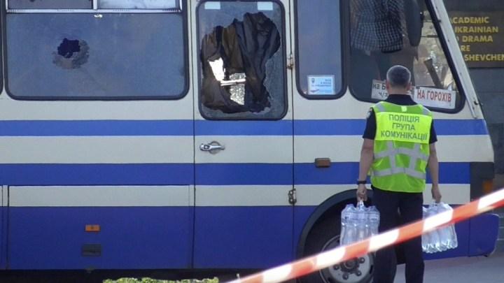 Vídeo: Sequestro do ônibus na Ucrânia termina com  homem preso