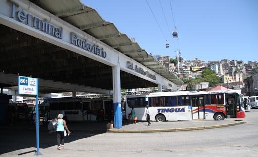 Rio: Tiros gera pânico em passageiros do Terminal Américo Fontenelle na Central do Brasil