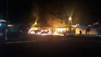 MT: Ônibus são incendiados no município de Jaciara