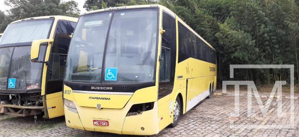 Viação Itapemirim inicia novo leilão de ônibus usados na internet. Confira a lista de veículos para venda
