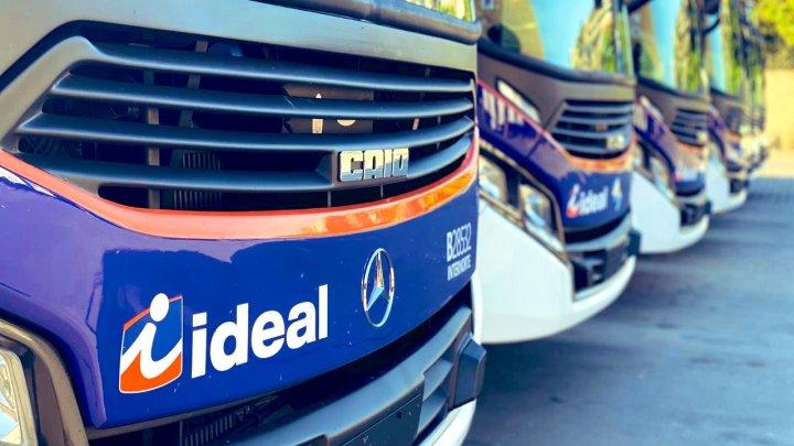 Rio: Viação Ideal renova parte de sua frota com ônibus Caio