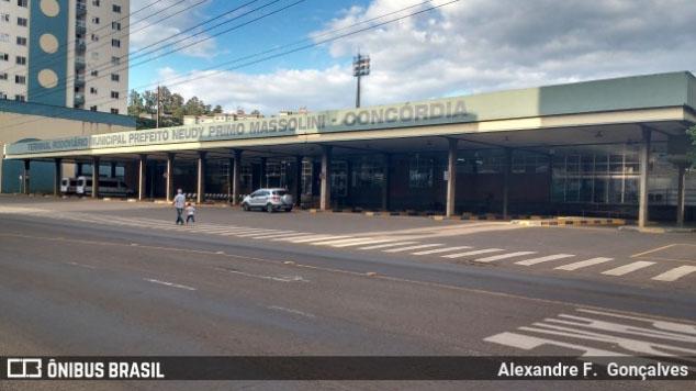 Prefeitura de Concórdia suspende a circulação de ônibus após recomendação do MPSC