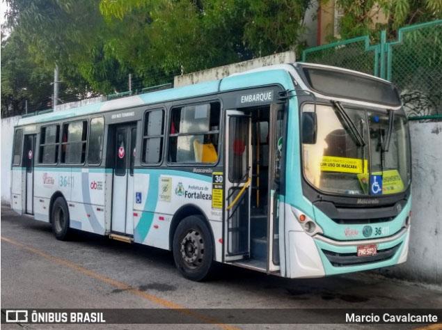 Prefeitura de Fortaleza acata recomendação do MPCE e disponibilizará 100% da frota de ônibus