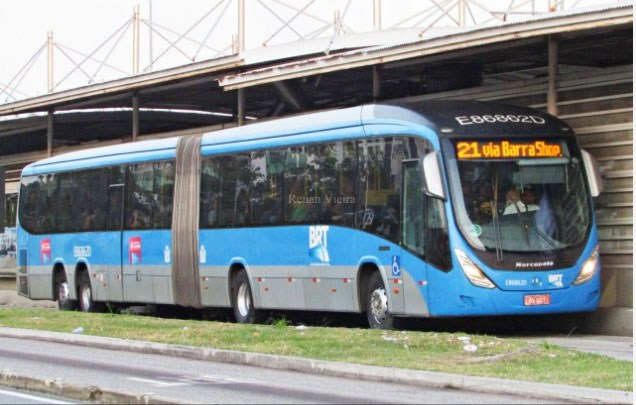 Vídeo: BRT Rio volta ser alvo de reclamações de passageiros nesta quarta e quinta-feira