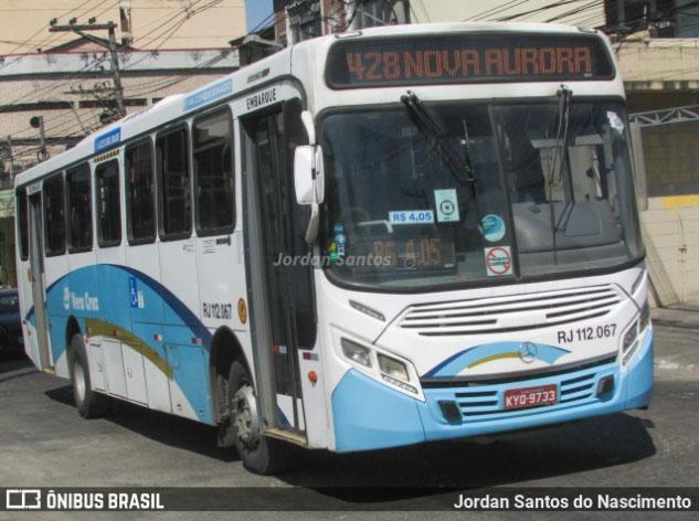 RJ: Assalto a ônibus da Auto Viação Vera Cruz termina com um bandido morto na Baixada Fluminense