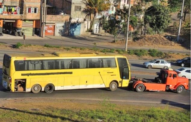 MG: Ônibus adquiridos em leilão da Viação Itapemirim passarão por reforma