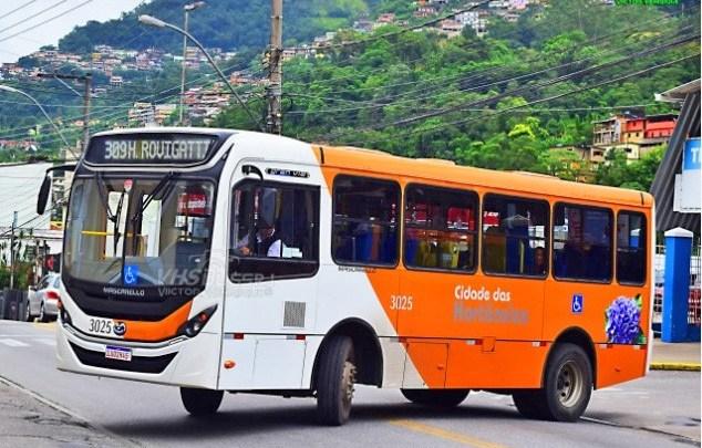 Petrópolis: Ônibus da empresa Cidade das Hortênsias têm a operação suspensa nesta sexta-feira