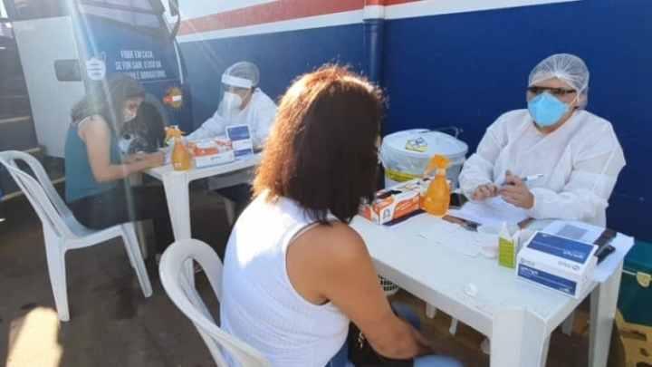Campo Grande: Micro-ônibus da Blitz da Covid-19 atende o Jardim Centro-Oeste