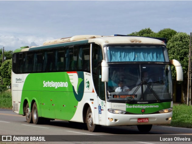 MG: Ônibus da Setelagoano é assaltado na região de Prudente de Morais