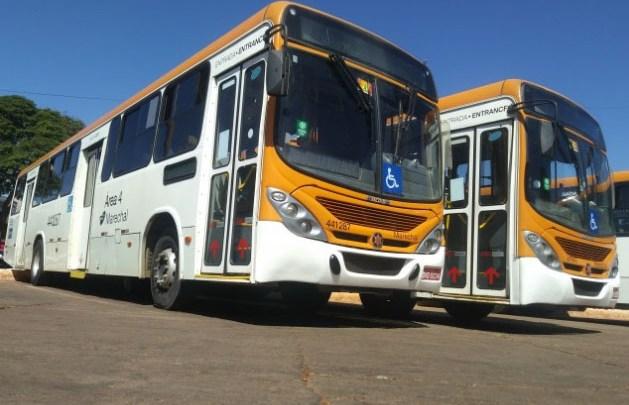 Rodoviários da Auto Viação Marechal Brasília realizam paralisação nesta segunda-feira
