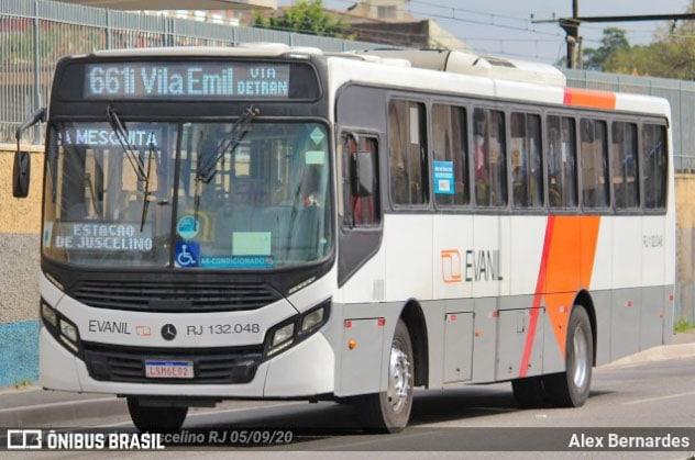 RJ: Evanil inicia operação em Mesquita e chama atenção de passageiros