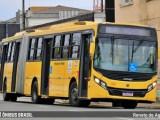 Joinville realiza testes com ônibus Caio Apache Vip Volks articulado