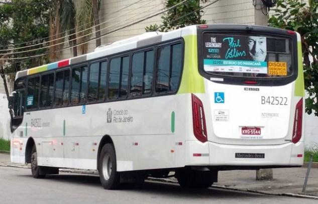 Rio: Militar acaba baleado durante assalto a ônibus na zona norte