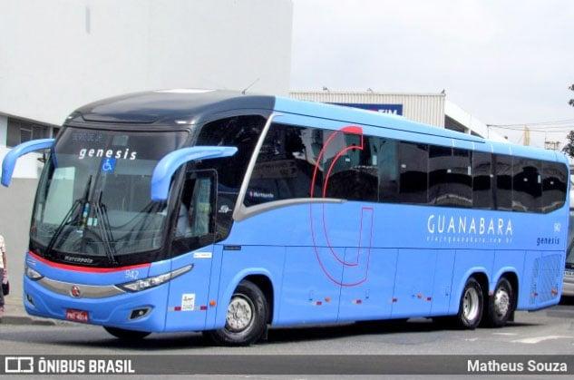 CE: Acidente entre ônibus da Expresso Guanabara e motos deixa dois feridos