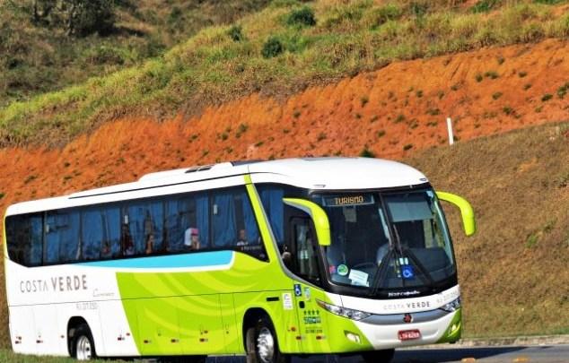 Viação Costa Verde segue com apenas um horário diário na Rio x Paraty