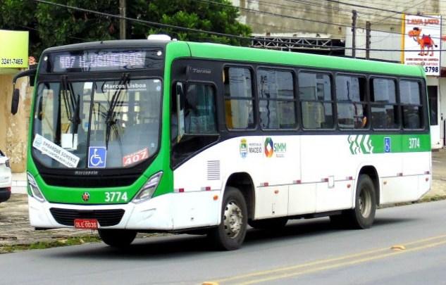 Maceió: Rodoviários da Auto Viação Veleiro protestam novamente na Avenida Fernandes Lima