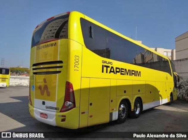 Surge os primeiros ônibus LD amarelinhos da Viação Itapemirim