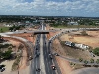 Segmento do Anel Viário de Fortaleza é liberado para o tráfego de veículos