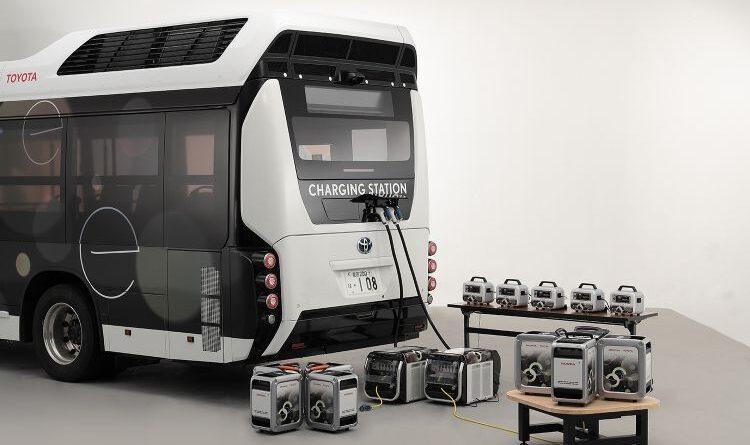 Honda e Toyota vão testar ônibus com sistema de entrega de energia