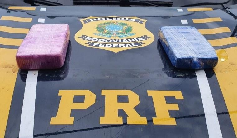 Vídeo: PRF apreende entorpecentes escondido em poltrona de ônibus em Porto Velho