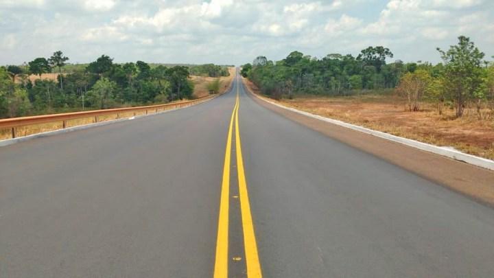 DNIT recupera 190 quilômetros de pista na BR-163/PA
