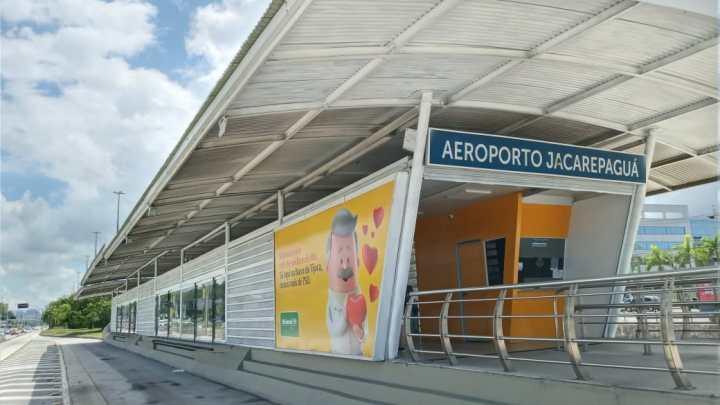 BRT Rio finaliza reformas na estação Aeroporto Jacarepaguá, no corredor Transcarioca