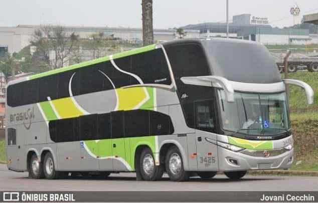 Brasil Sul renova parte da frota com novos ônibus DD New G7 8×2