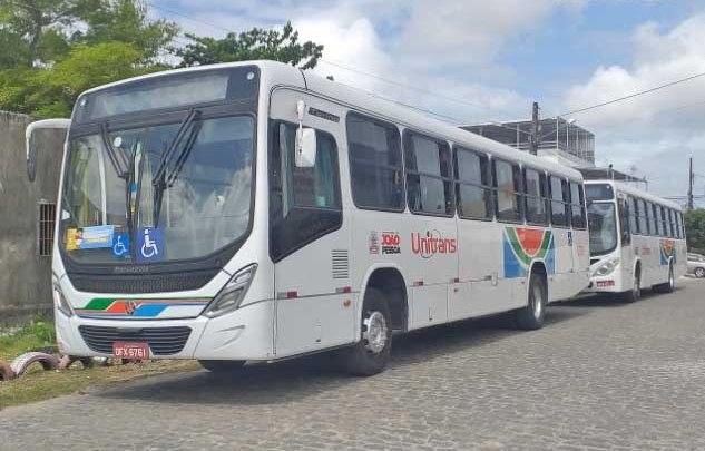 Frota de ônibus de João Pessoa passa ser reforçada nesta segunda-feira