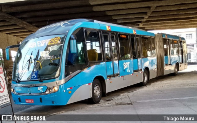 Prefeitura inspeciona cumprimento de exigências do Ministério Público contra o BRT Rio