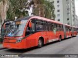 Ônibus de Curitiba descumprem regra e trafegam lotados durante a pandemia