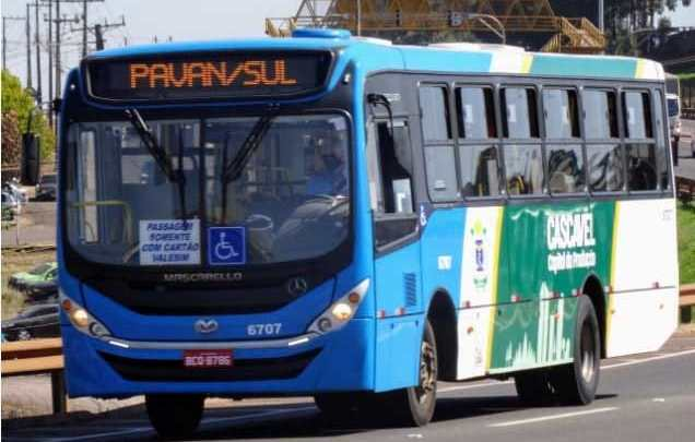 SC: Justiça determina que 65% da frota de ônibus de Cascavel retome a operação