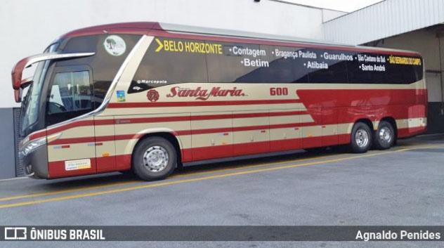 SP: Santa Maria inicia operação nesta sexta-feira no trecho São Bernardo do Campo x Belo Horizonte