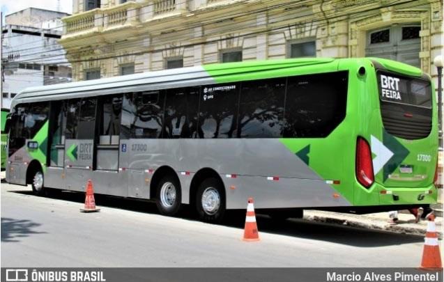 BA: Gratuidade do BRT Feira de Santana que seguia em teste é suspensa