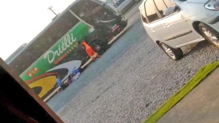 SC: Polícia segue em busca por marginais que assaltaram ônibus na BR-101