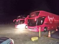 Vídeo: Mais dois ônibus da Buser são apreendido pela ANTT nesta segunda-feira 12