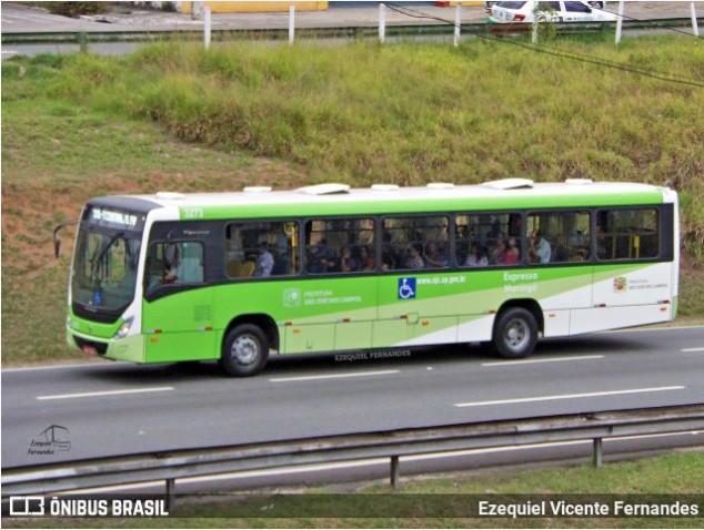 SP: Idoso morre atropelado por ônibus da Expresso Maringá em São José dos Campos