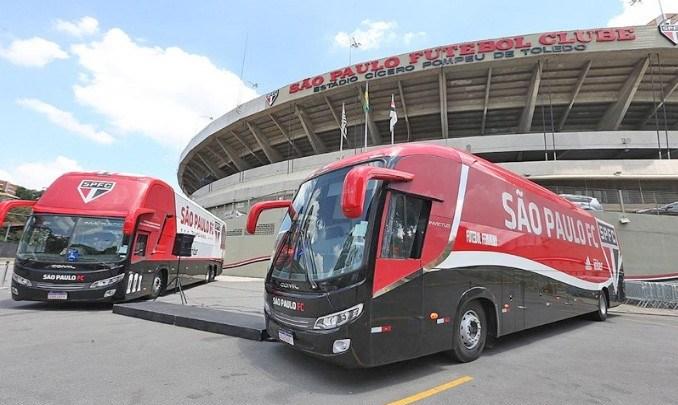 São Paulo apresenta seus novos ônibus neste sábado, no Morumbi