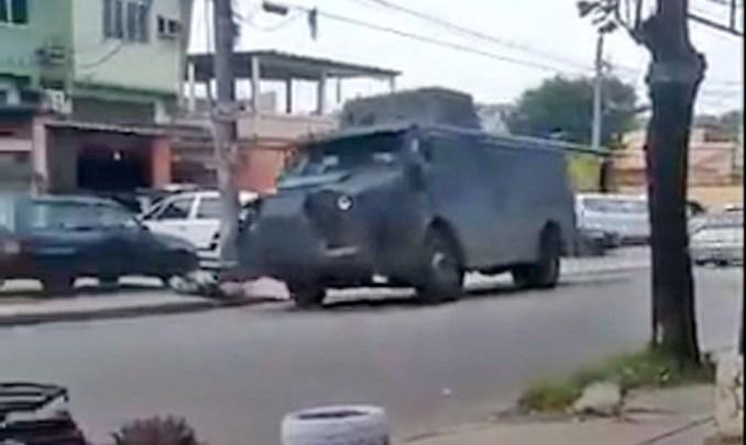 Rio: Tiroteio na Vila Vintém suspende a circulação de ônibus nesta tarde