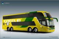 Gontijo divulga nova identidade visual de seu primeiro ônibus DD