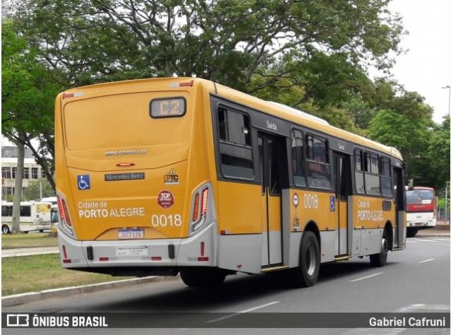 Porto Alegre anuncia passe livre nos ônibus neste domingo de eleição