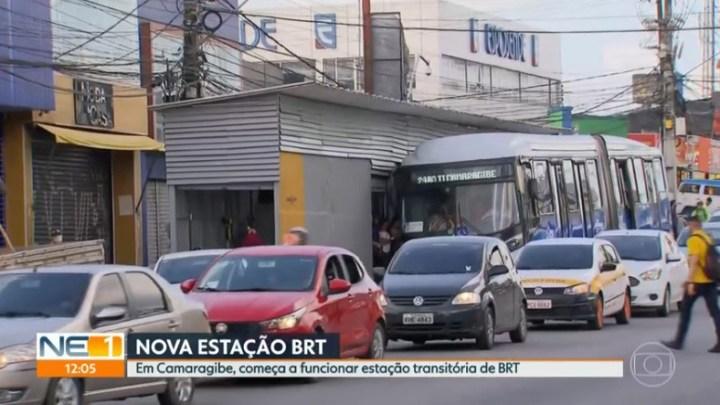 PE: Segunda Estação de BRT transitória começa a funcionar na cidade de Camaragibe