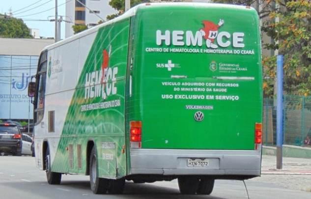 Unidade móvel do Hemoce chega à Região Centro-Sul do Ceará