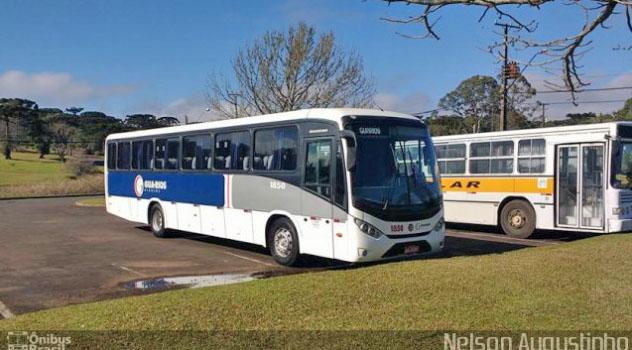 PR: Acidente entre carro e ônibus deixa um morto na PR-170 em Guarapuava