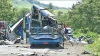Taguaí: Motorista do ônibus da Star Viagem e Turismo informou à polícia que freio falhou